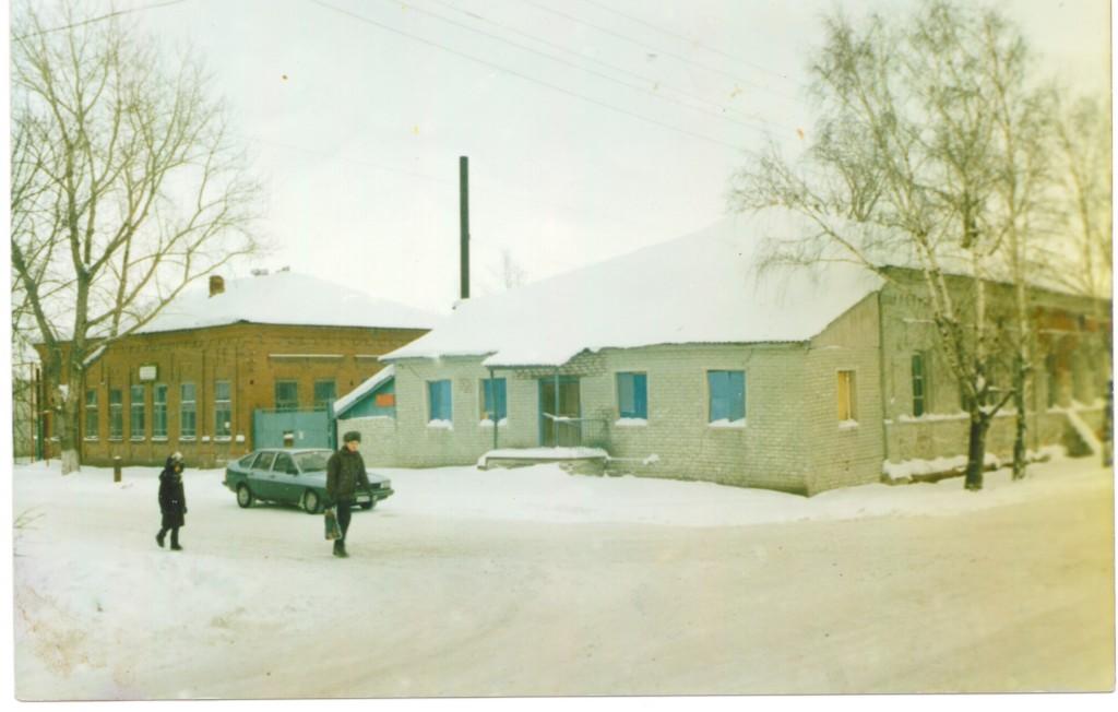 Старое здания медресе